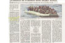 Artikel der Wilhelmshavener Zeitung vom 21.01.2015