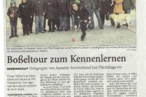 Artikel der Wilhelmshavener Zeitung vom 17.03.2015