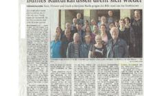 Artikel der Wilhelmshavener Zeitung vom 27.08.2015