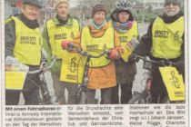 Artikel der Wilhelmshavener Zeitung vom 11.12.2015