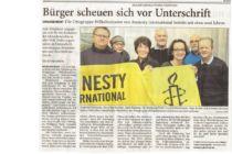 Artikel der Wilhelmshavener Zeitung vom 30.01.2016