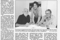 Artikel der Wilhelmshavener Zeitung vom 18.08.2018
